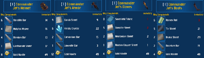 Jet's Armor Set