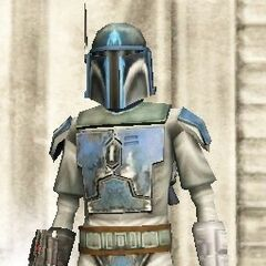 Malek's sixth armor, and second Death Watch lieutenant armor. (20 BBY)
