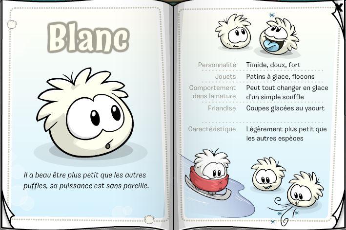 Puffle blanc wiki club penguin fandom powered by wikia - Jeux de club penguin gratuit ...