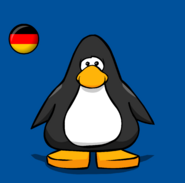 Germany Flag on a Player Card