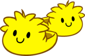 Yellow Puffle Slippers icon