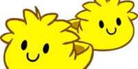 Yellow Puffle Slippers