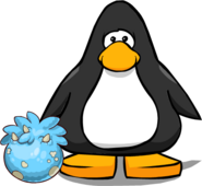 Blue Triceratops Puffle Egg PC
