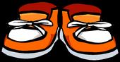 Orange Sneakers Icon 387