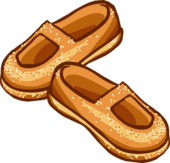 Sparkly Amber Shoes icon