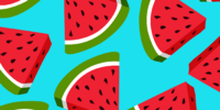 Wacky Watermelon Background