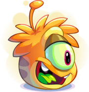 Orange Alien Puffle adoption
