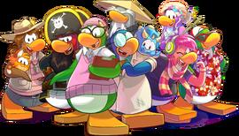 10th Anniversary mascots