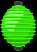 Green Paper Lantern sprite 001