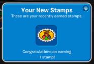 StampEarnNoteStampbook