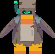 Penguin robot transformation sprite