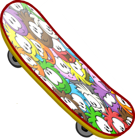 File:Puffle Skateboard.png