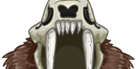 Saber Toothed Helmet