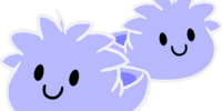 Ghost Puffle Slippers