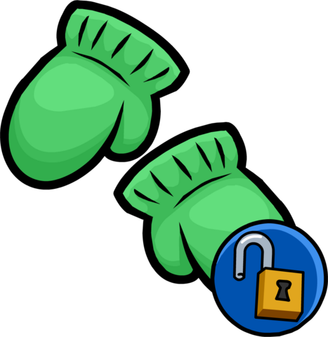 File:Green Mittens clothing icon ID 15085.png