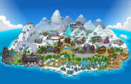 Frozen Fever Party Map