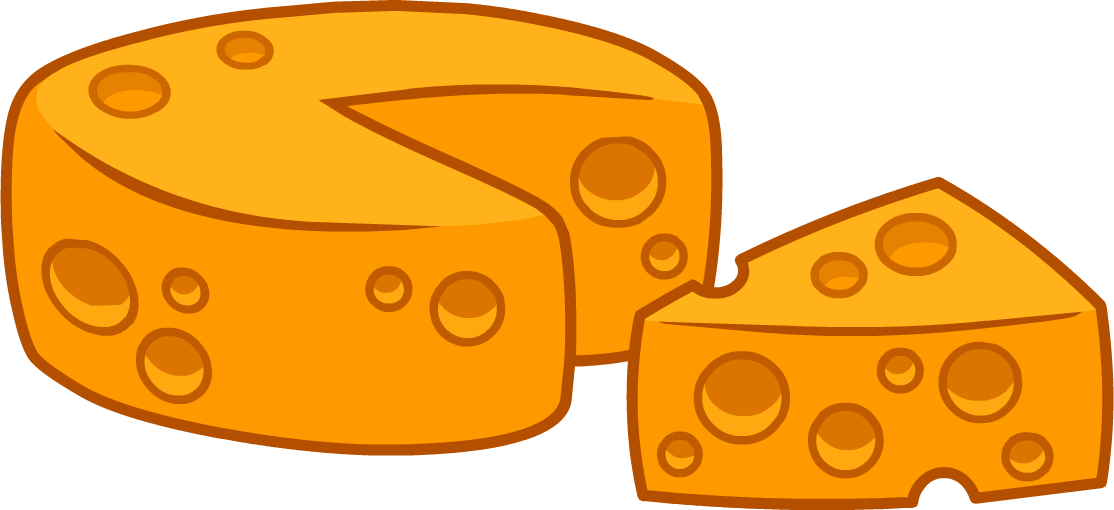 10 Wedges Of Cheese