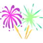 Decal Fireworks icon