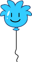 Blue Puffle Balloon icon