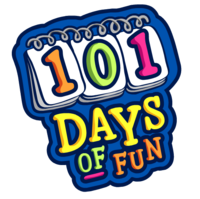 101 days of fun logo