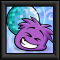 Purple Puffle Picture