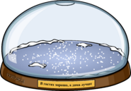 Snowglobe igloo in-game ru
