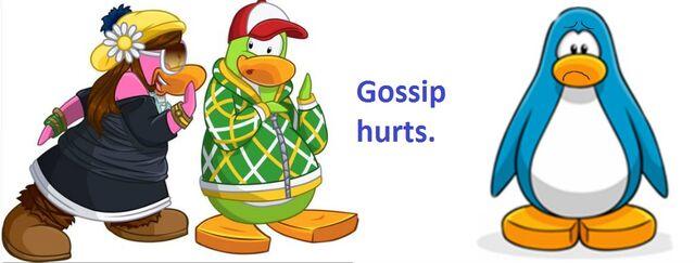 File:Club Penguin gossip hurts poster.JPG