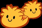 Orange Puffle Slippers icon