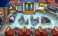 School & Skate Party Pizza Parlor