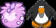 Pink Stegosaurus Puffle Egg IG
