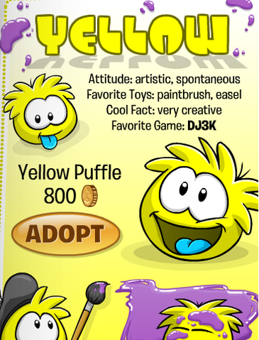 File:Yellow Puffle In Catalog.png