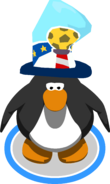 Penguin Cup Hat In-Game