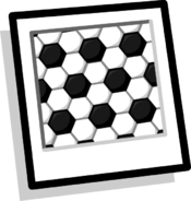 Soccer Ball Background Icon
