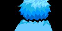 Blue Pompom Toque