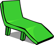 Green Deck Chair sprite 006