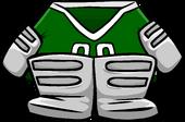 Green Goalie Gear icon