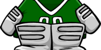 Green Goalie Gear