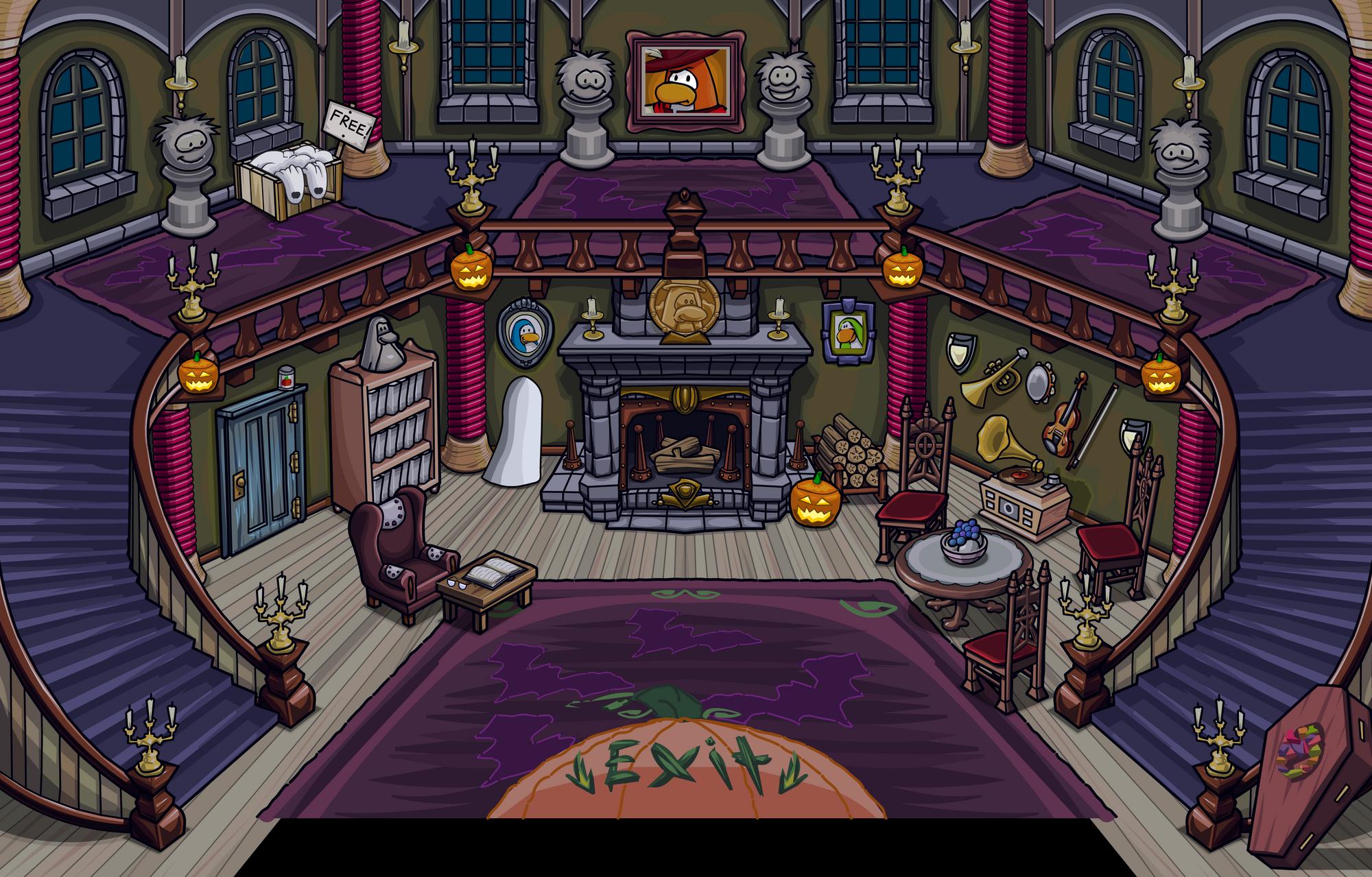 haunted house club penguin wiki fandom powered by wikia