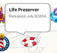 Life Perserver Pin Book
