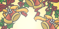 Holiday Wreath Background