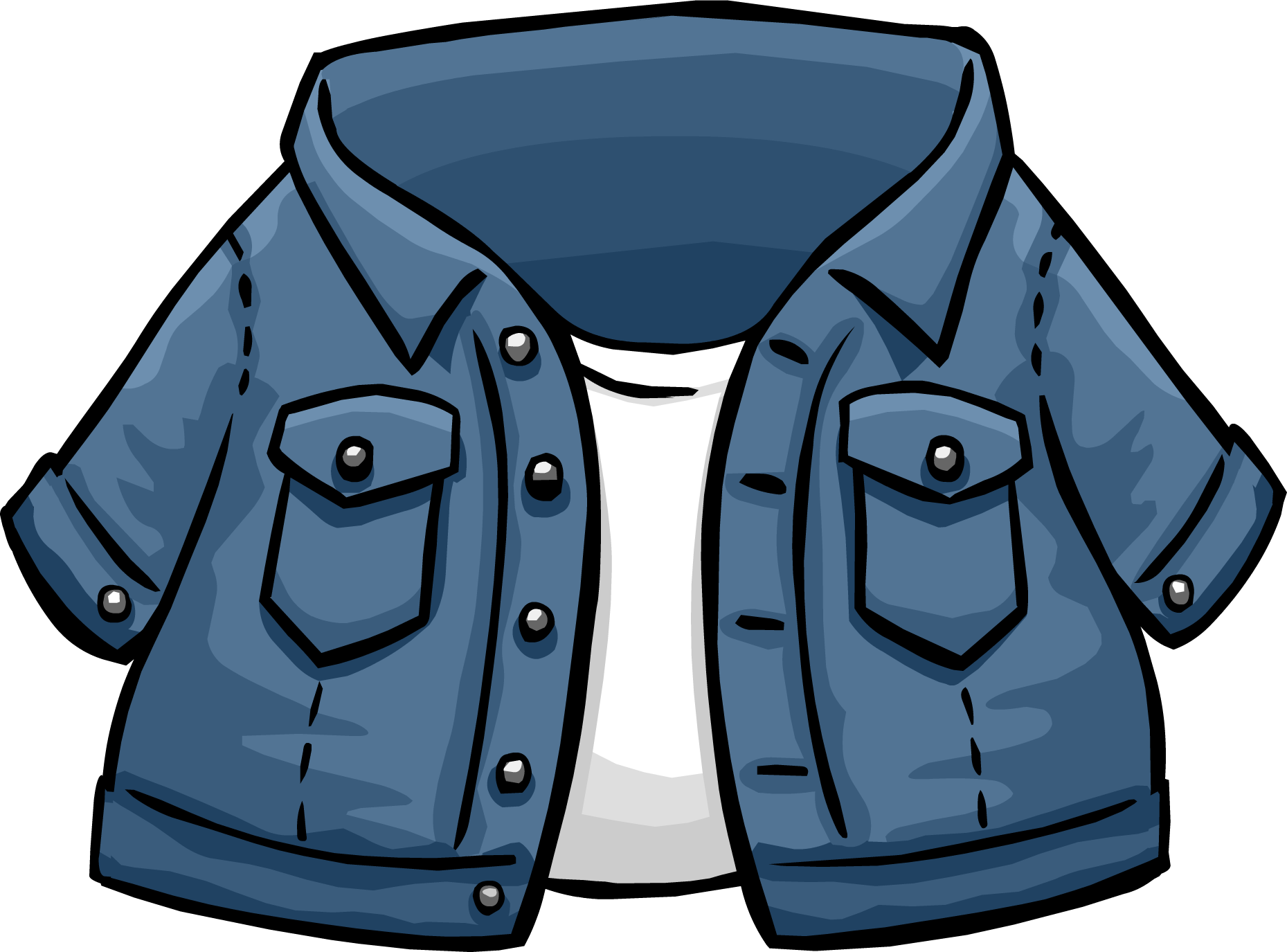 Image - Jean Jacket Icon 251.png | Club Penguin Wiki ...
