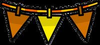 Orange Triangle Pennants furniture icon ID 2003