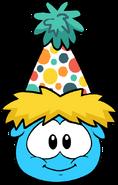 Polka Puffle Hat in Puffle Interface
