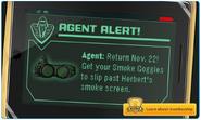 Smoke Googles Op. Blackout Log Screen