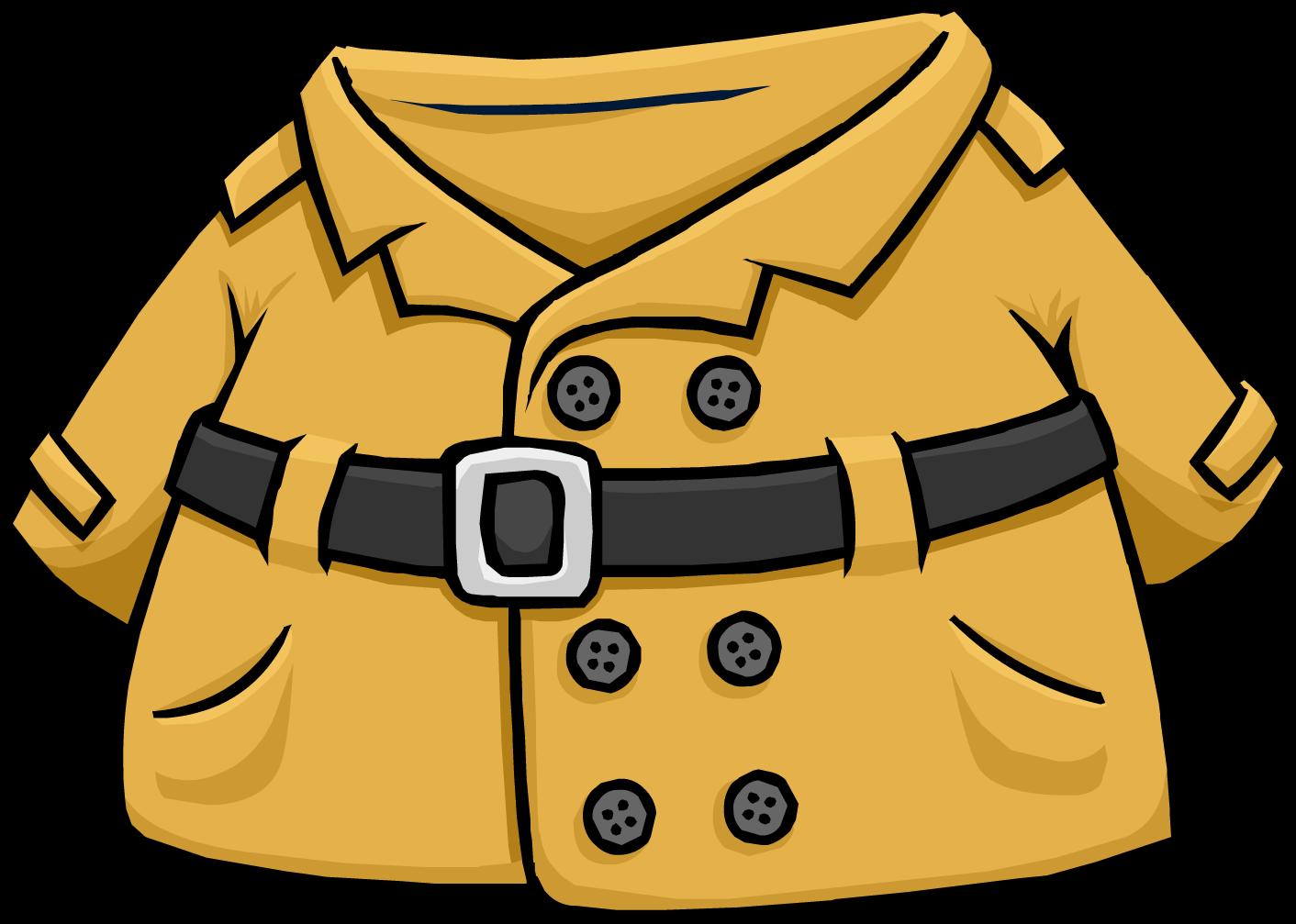 Rain Coat Clip Art Detective's Coat | Clu...