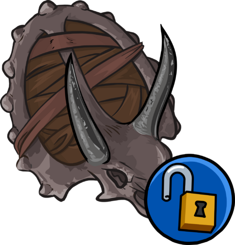 File:Triceratops Shield clothing icon ID 15200.png
