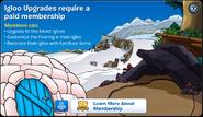 Igloo Upgrades Membership Error