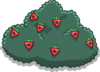 Large Multi-berry Bush sprite 002