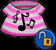 Pop Music Shirt unlockable icon