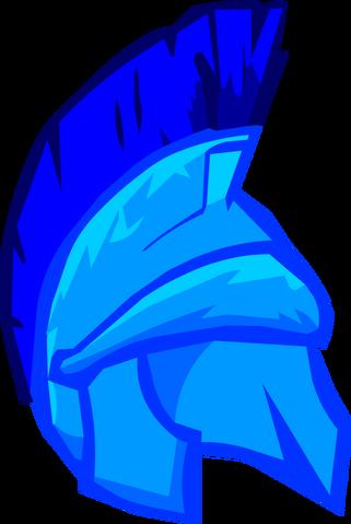 File:Blue Roman Helmet.png